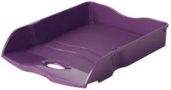 Brievenbak HAN Re-LOOP A4/C4 stapel- en nestbaar, lila 100% gerecycled materiaal