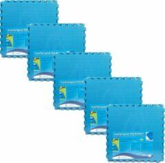 Blauwe Comfortpool - Voordeelpakket - Zwembad tegels - 25 tegels - 60 x 60 cm - 9m²