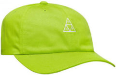 Groene Pet Huf Cap essentials tt logo cv 6 panel bio