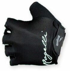 Zwarte Rogelli Dora Dames model fietshandschoenen