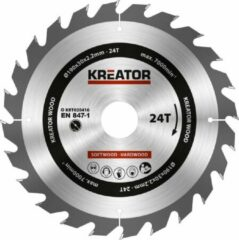Kreator KRT020416 Zaagblad hout 190 mm -24T