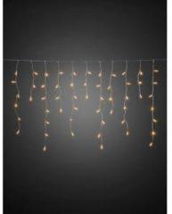 Lichtgordijn ijsregen Buiten 24 V Energielabel: A (A++ - E) 200 LED Amber Konstsmide