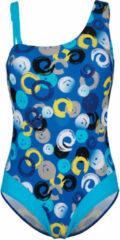 Blauwe Badpak Maritim Turquoise::Royal blue