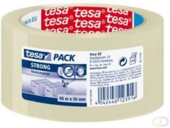 TESA Clear Strong 66m Polypropyleen Transparant 1stuk(s) kantoortape