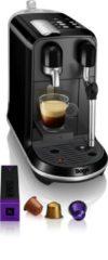 Zwarte Nespresso Sage Creatista Uno SNE500BKS4ENL1 - Black Sesame - Koffiecupmachine