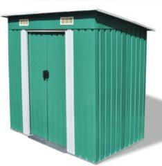 VidaXL tuinhuis Compact 190x124x181cm groen