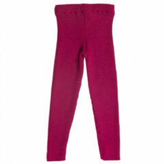 Reiff - Kid's Rippenlegging - Leggings maat 74/80, roze/rood