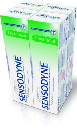 Afbeelding van Sensodyne Freshmint - 4x 75 ml - Tandpasta