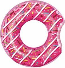BSTW Opblaasbare roze donut 107 cm