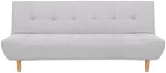 Grijze Beliani Alsten Slaapbank Polyester 100 X 182 Cm