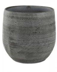 Grijze Ter Steege Pot esra mystic grey bloempot binnen 15 cm