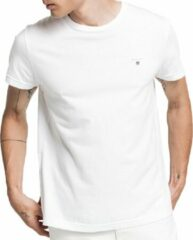 Witte GANT Men's The Original Short Sleeve T-Shirt - White - XL - White