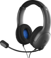 Grijze PDP Afterglow LVL40 Stereo PlayStation 4 Headset - Grey