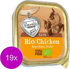 Renske Kat Bio Alu 85 g - Kattenvoer - 19 x Kip Graanvrij