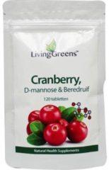 Groene Livinggreens Cranberry Met D Mannose (120tb)