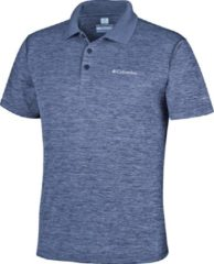 Columbia Outdoorshirt Zero Rules Polo Shirt Heren - Carbon Heather - Maat XXL