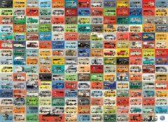 Eurograph Puzzel 1000 stukjes-Volkswagen bus