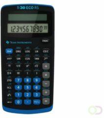 Texas Instruments TI-30 ECO RS Schoolrekenmachine werkt op zonne-energie Zwart Aantal displayposities: 10