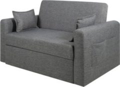 PKline Schlafsofa RIA in grau Schlafcouch Funktionssofa Gäste Bett Couch