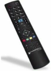 Zwarte G.B.S. Elettronica REPLACEMENT FOR LG afstandsbediening IR Draadloos TV Drukknopen