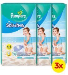 Pampers Splashers maat 4-5 (9-15 kg) 33 wegwerpbare zwemluiers