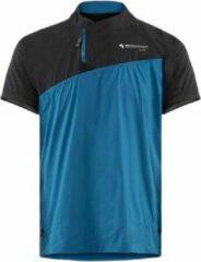 Klättermusen T-shirt Windwerend Heren Polyamide Blauw/zwart L