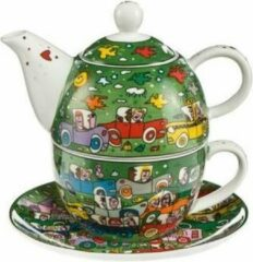 James Rizzi Goebel Quality: Crosstown Traffic Tea for One