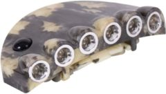 Eurocatch Fishing - Cap Light 6-Led | Camo - Kunststof - Camo - Batterij