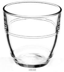 Transparante Duralex Gigogne Waterglas 22 cl - Gehard glas - 4 stuks