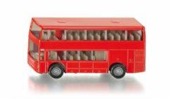 Rode Siku dubbeldekker bus rood (1321)
