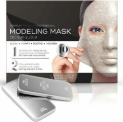Zilveren Voesh New York Voesh Facial Modeling Mask Silver Glow (10 applications)