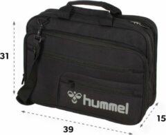 Zwarte Hummel Notebook Tas Unisex - One Size