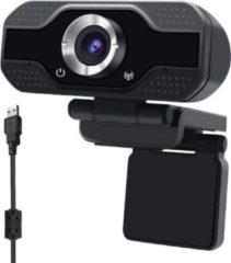 Zwarte OEM Webcam voor PC - met Microfoon -Webcam - met USB - Full HD 1080P - Camera - Thuiswerken - voor Windows en Mac