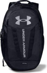 Zwarte Under armour UA Hustle 5.0 Backpack - Black-Black-Silver - OSFA Default