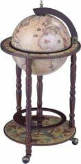 Brulo Wereldbol Globebar Wijnrek - ⌀ 33 cm - Bruin - Livingstone