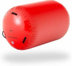 AirTrack Factory AirRoll rood | 90cm diameter | Flikflak hulp | 5 jaar garantie | + tas