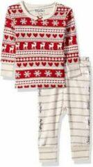 Rode Hatley 2 delige pyjama set maat 74