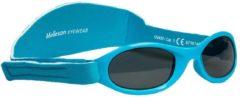 Melleson Eyewear kinderzonnebril Juul met band 0 - 3 jaar - maat S - blauw