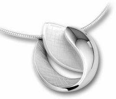 Kasius Trendjuwelier huiscollectie 1313868 Zilveren collier met hanger