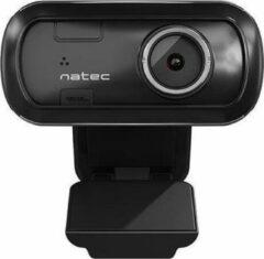 Zwarte Natec Lori – Full HD 1080p Webcam Manuele Focus