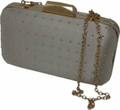 Jessidress Clutch Dames Clutch Champagne