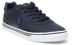 Blue Sneaker Hanford in pelle