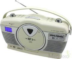 Sound Master Soundmaster RCD1350BE Retro Radio met CD Speler en USB/SD Aansluiting