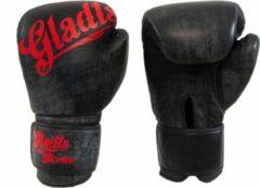 Gladts Bokshandschoenen Antique look zwart met grijs - 18 oz - XL