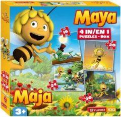 Studio 100 Maya de Bij Puzzel 4-In-1 - Puzzel