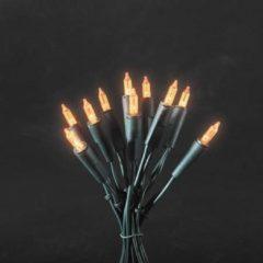 Konstsmide 6302-850 Mini-lichtketting Binnen werkt op het lichtnet LED Oranje Verlichte lengte: 5.1 m