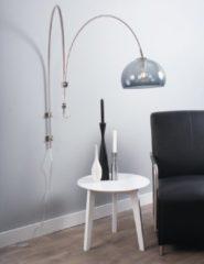Zwarte Stalen wandlamp Steinhauer Gramineus staal/transparant Transparante Hanglamp