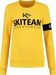 Gele Kou sportswear Skitrui Skiteam vibrant Yellow