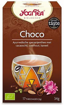Afbeelding van Yogi Tea Choco 6-pack (6x 17st)