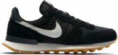 Antraciet-grijze Nike Internationalist Dames Sneakers - Black/Summit White-Anthracite-Sail - Maat 40